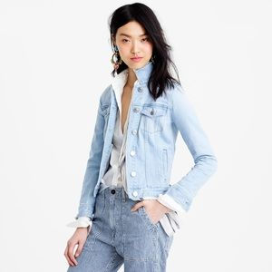JCREW Women's Blue Stretch Denim Jacket XS